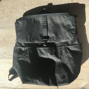 lululemon athletica Bags - Black LuLuLemon Rise & Shine Backpack